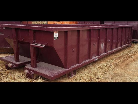Eastside 20 yard roll off dumpster box