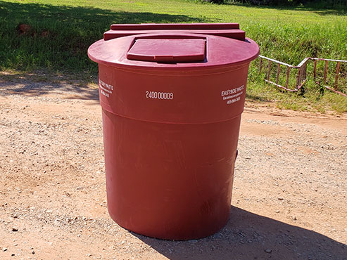 Eastside 240 gallon residential and commercial garbage tub