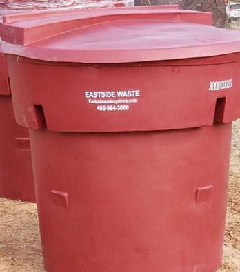 Eastside Waste 300 Gallon Plastic Garbage Tub