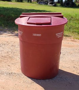 Eastside Waste 240 Gallon Plastic Garbage Tub